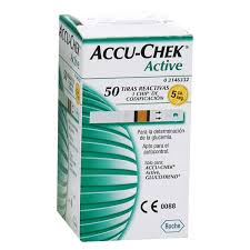 Accu-Check Active 50 Test Strips